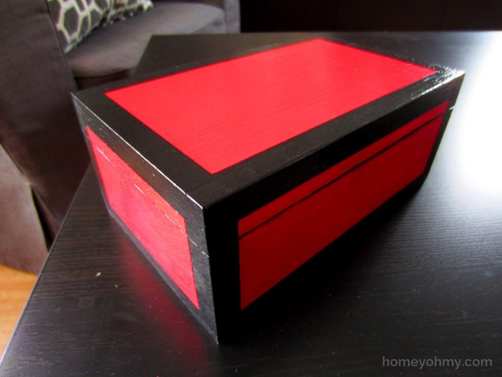 DIY Lacquered Box 1