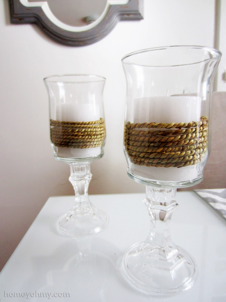 DIY Candle Holders 2