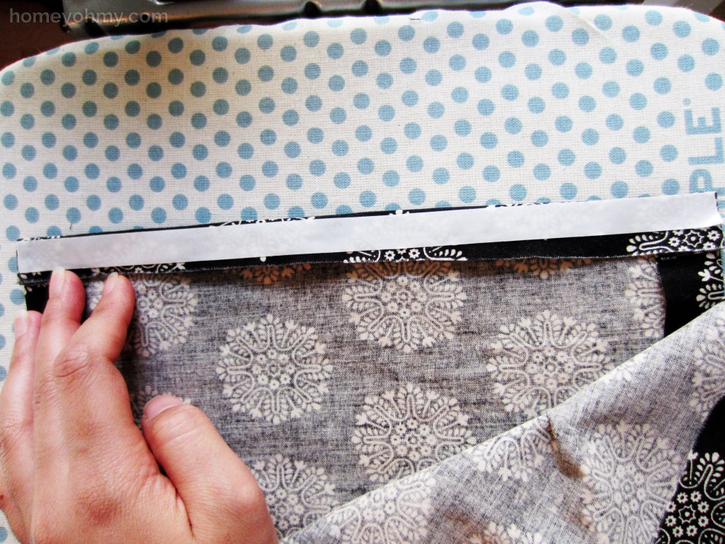 Fusible Tape Application