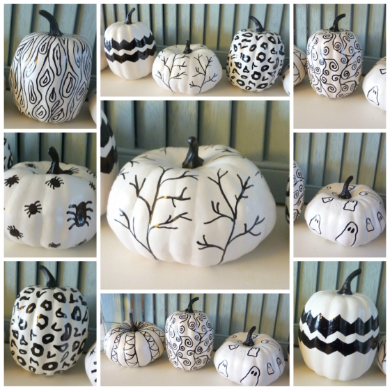 Hand Sketched Sharpie Pumpkins The Happy Housie