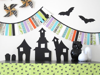 Paper Halloween Display Design Sprinkle