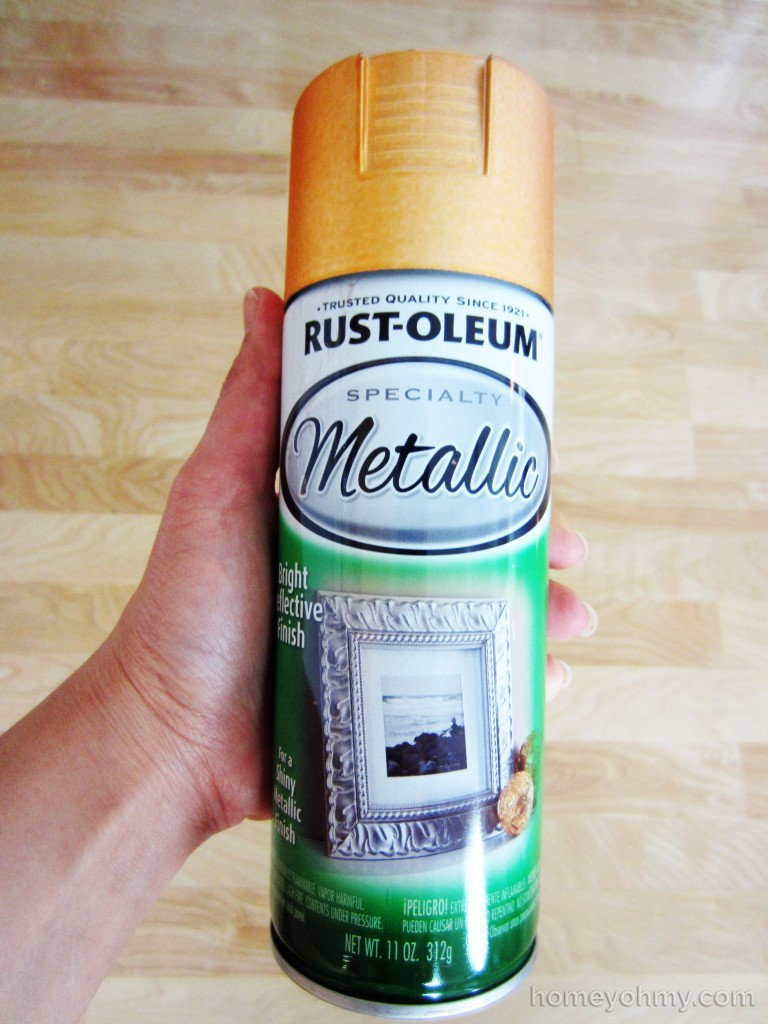Rustoleum Copper Metallic Spray Paint