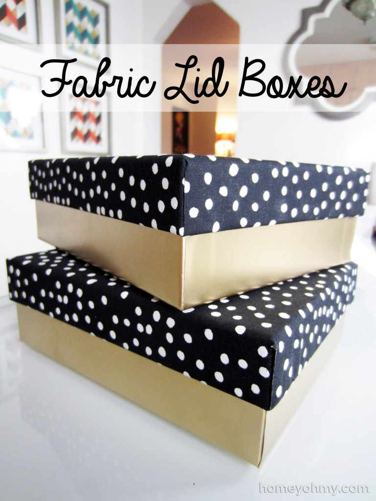 Diy fabric lid boxes homey oh my diy fabric lid boxes solutioingenieria Choice Image