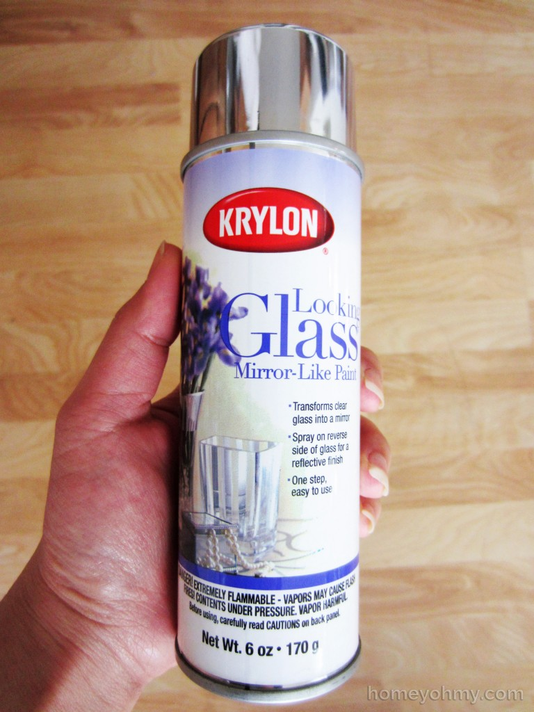 Krylon looking glass spray paint