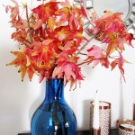 Fall Decorating with Liquidambar
