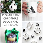 10 Simple DIY Christmas Decor and Gift Ideas by Homey Oh My!