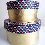 DIY Washi Tape Boxes