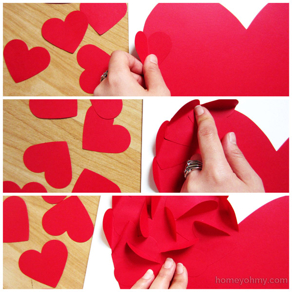 Gluing on hearts