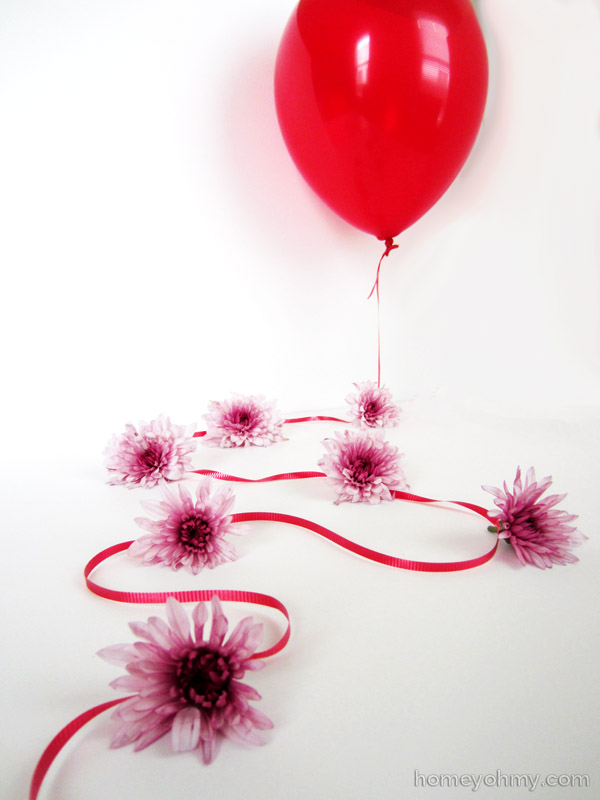 Balloon Flower Garland