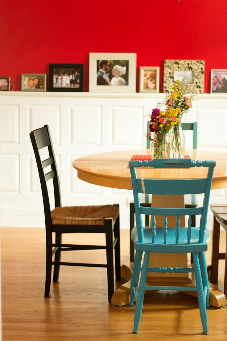 Decorating with red homey oh my for Red accent wall