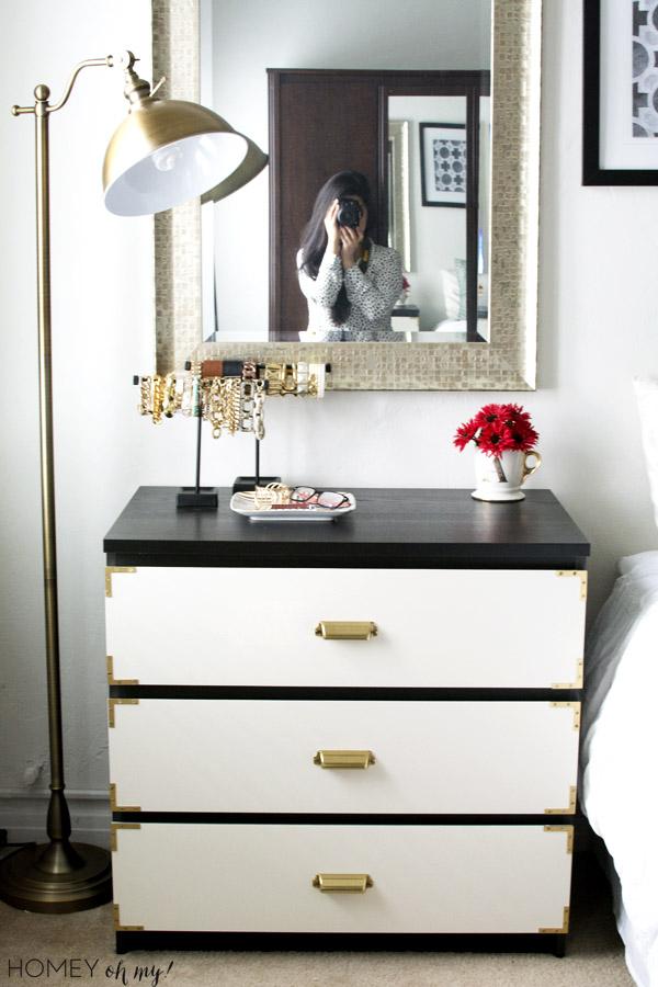 Campaign Style Dresser Ikea Malm Makeover