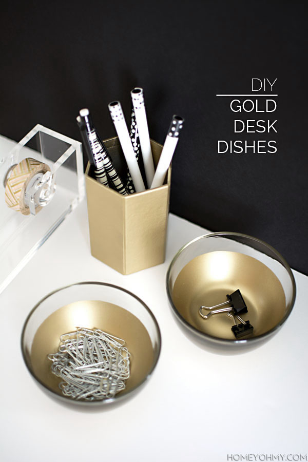 DIY-Gold-Desk-Dishes