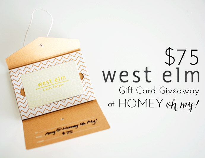 New Blog Design + Giveaway! - Homey Oh My