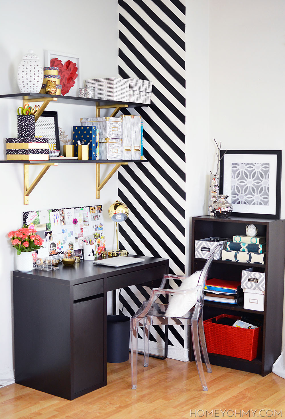 Work space reveal for Office area ideas