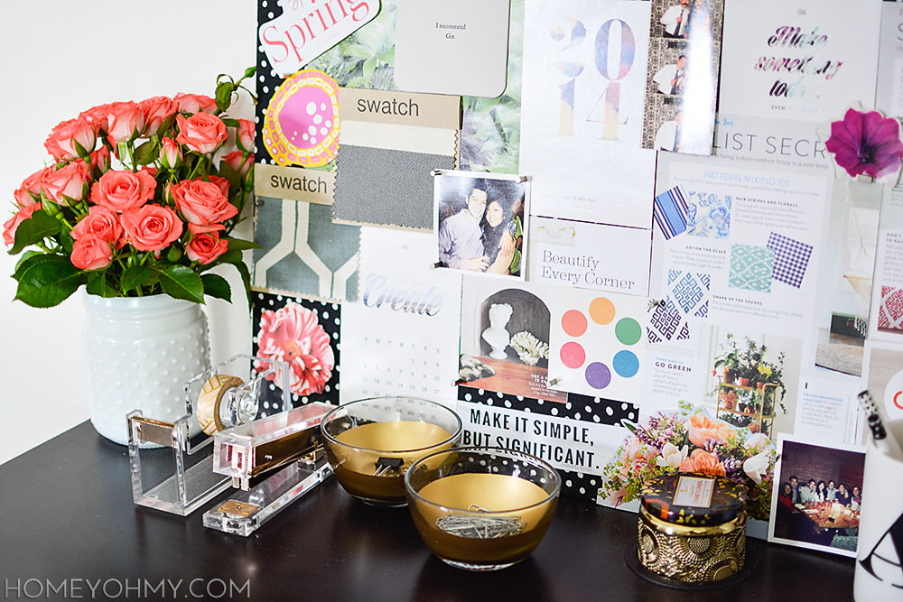 Chic Desk Accessories Work Space Reveal
