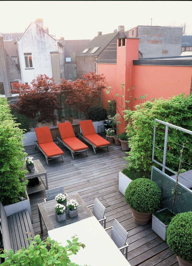 Rooftop Terrace Garden