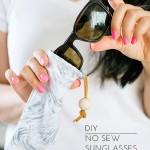 DIY No Sew Sunglasses Pouch