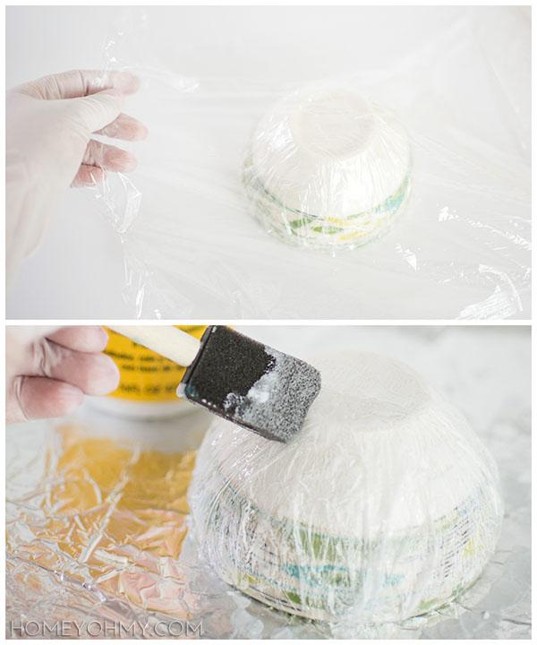Plastic Wrap Prep