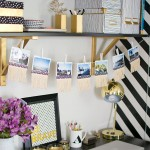 DIY Fringe Photo Garland- Post at PBteen