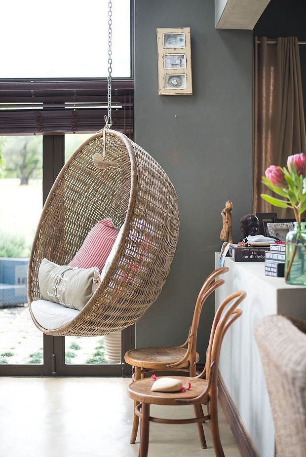 Rattan hanging chair & Hanging Chairs - Homey Oh My
