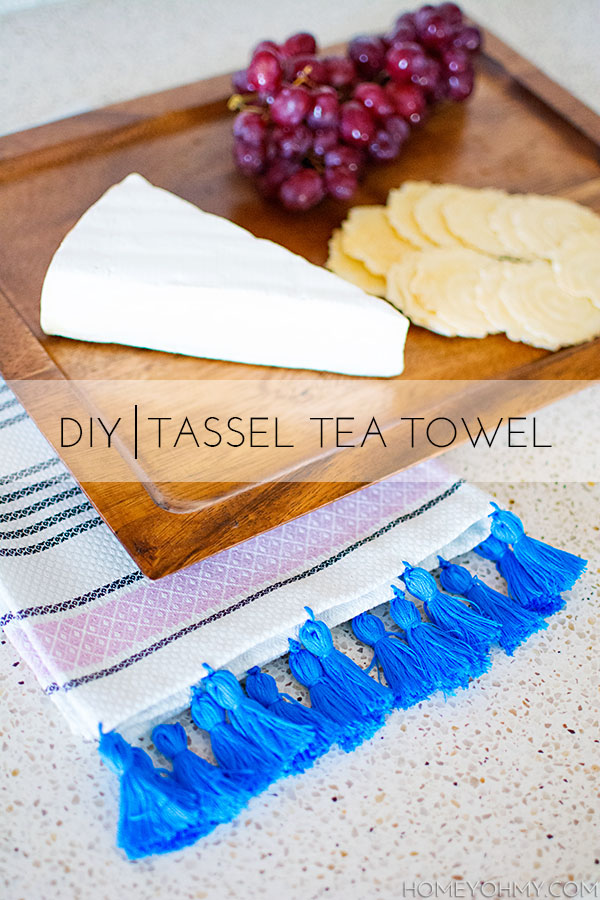 Tassel Tea Towel
