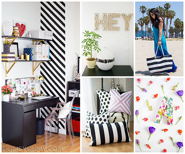 Homey Oh My! projects collage