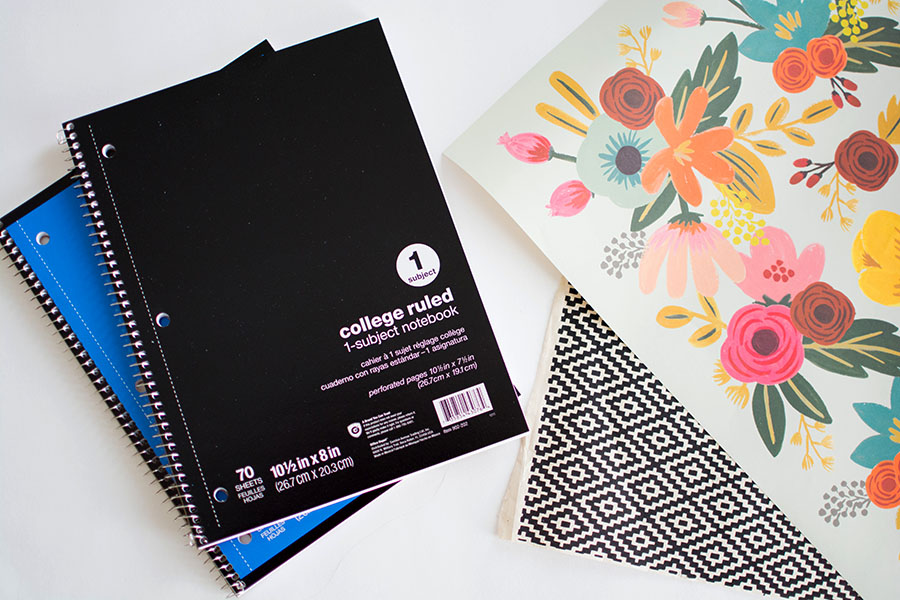 Diy Customizable Notebooks For Back To School Pbteen Blog