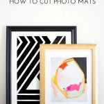 How to Cut Photo Mats