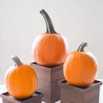 DIY Wood Pedestals