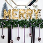 DIY Merry Sign