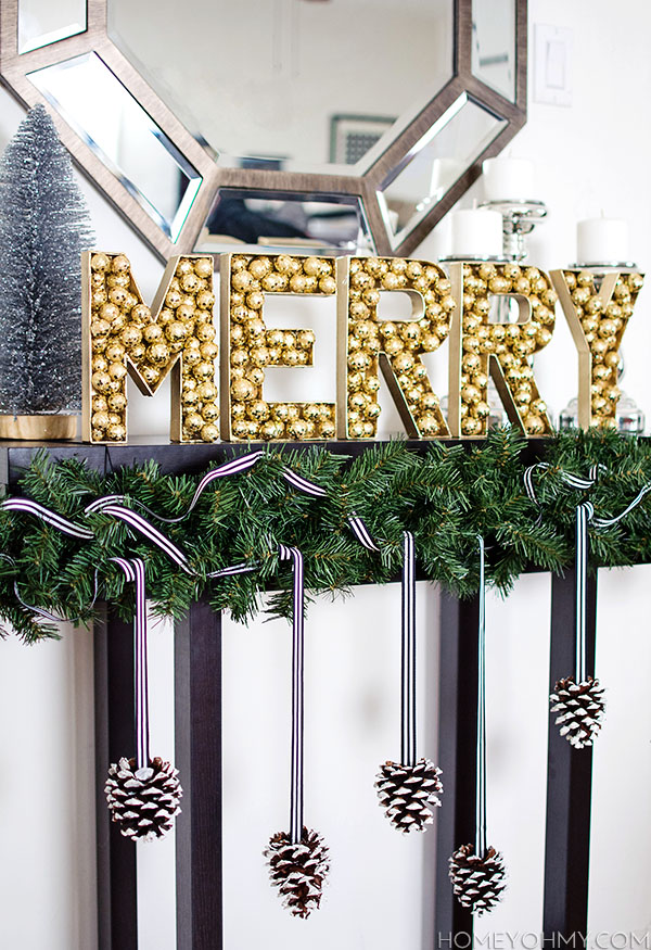 Merry Gold Letters