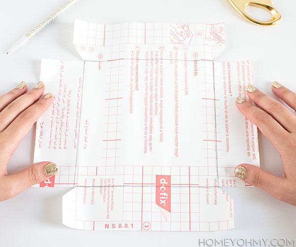 Contact Paper cut