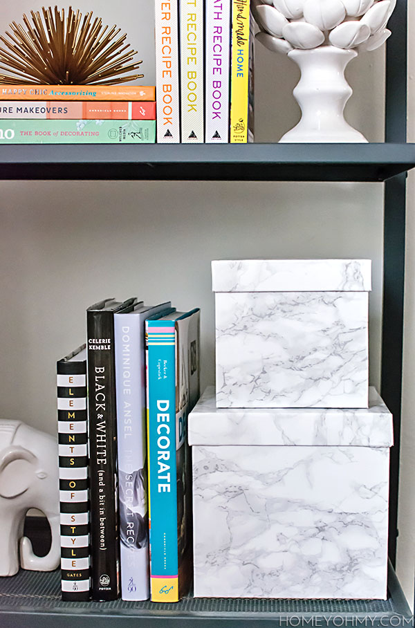 How to Cover Boxes in Contact Paper