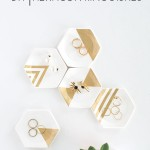 DIY Hexagon Ring Dishes