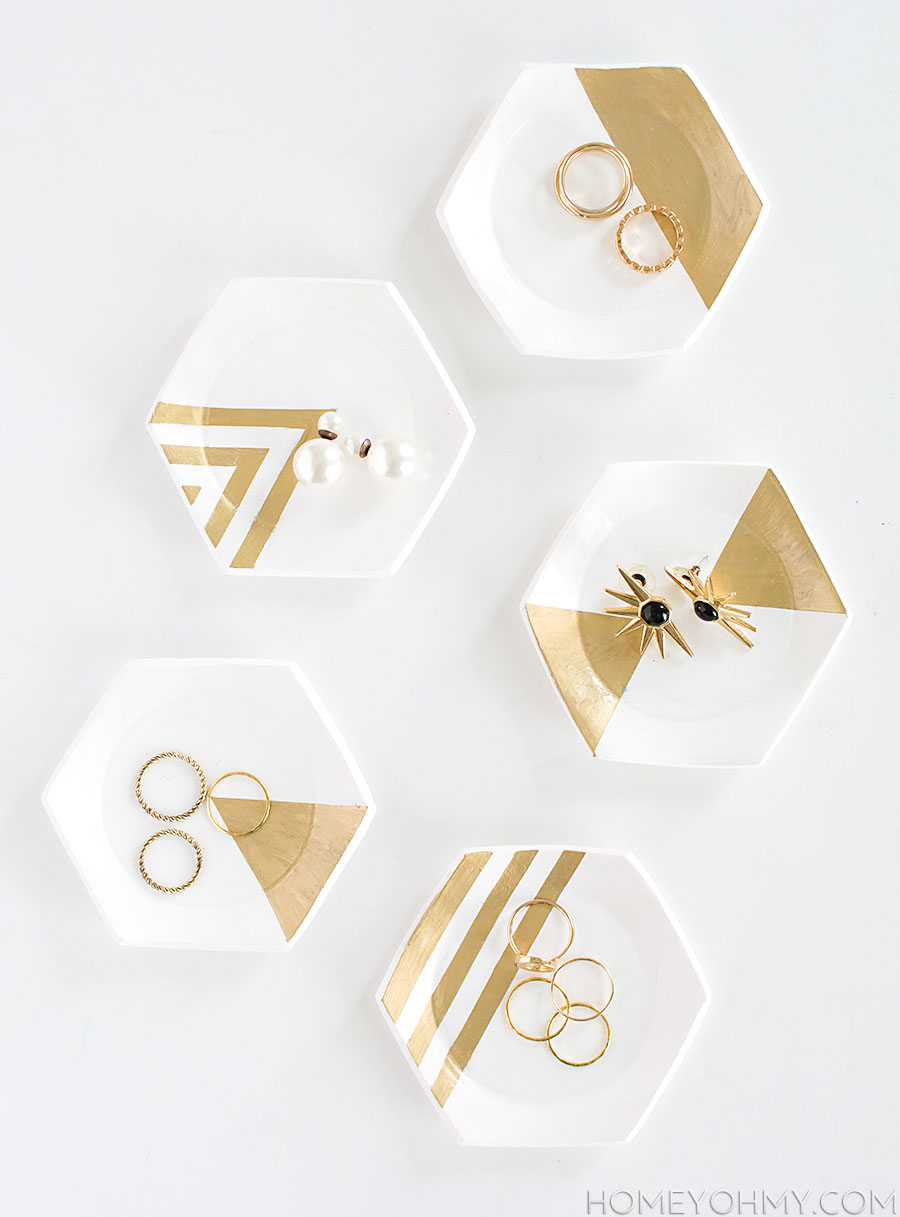 Hexagon Ring Dishes
