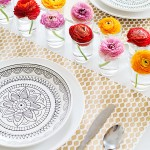 Spring Table with Ranunculus