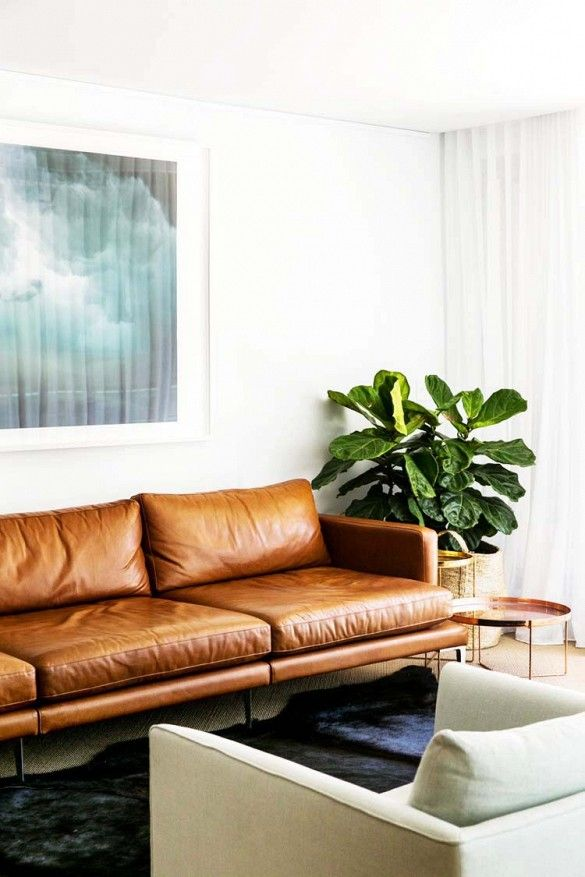 tan leather sofa - Tan Leather Sofas - Homey Oh My
