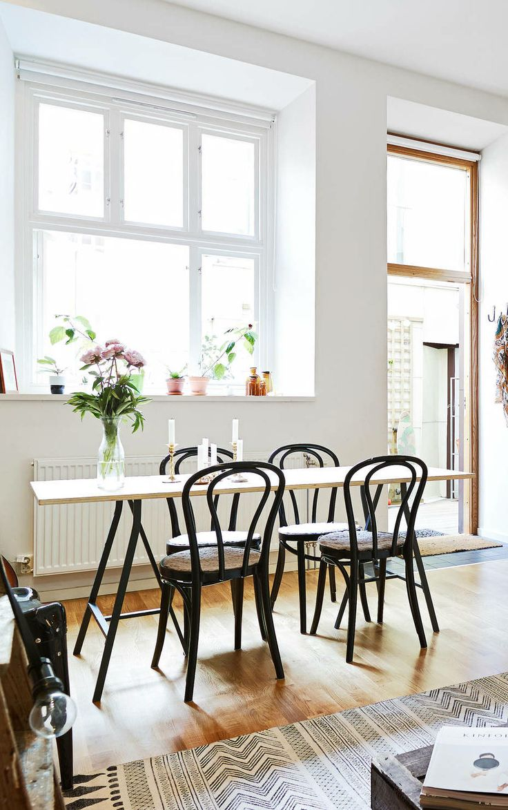 Black Bentwood Chairs - Homey Oh My