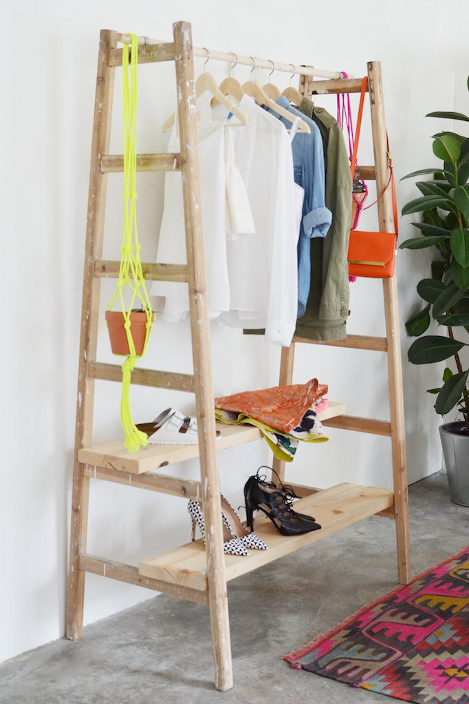 ladder-wardrobe
