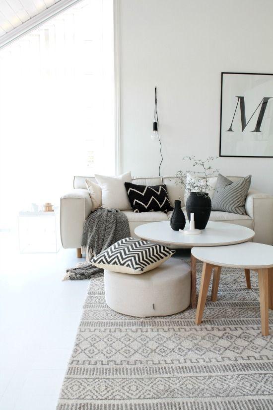 monochrome pillows