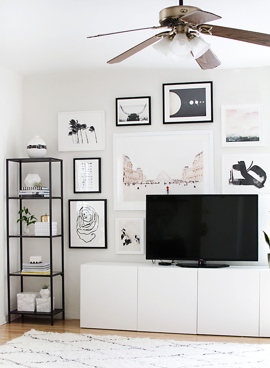 Great How To Hang A Gallery Wall