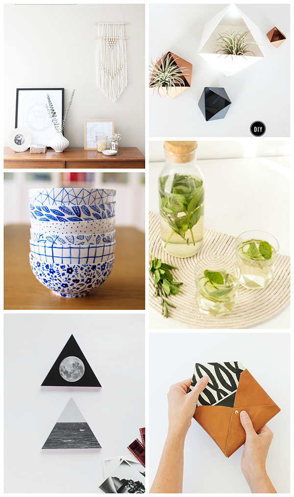 Simple and Modern DIYs