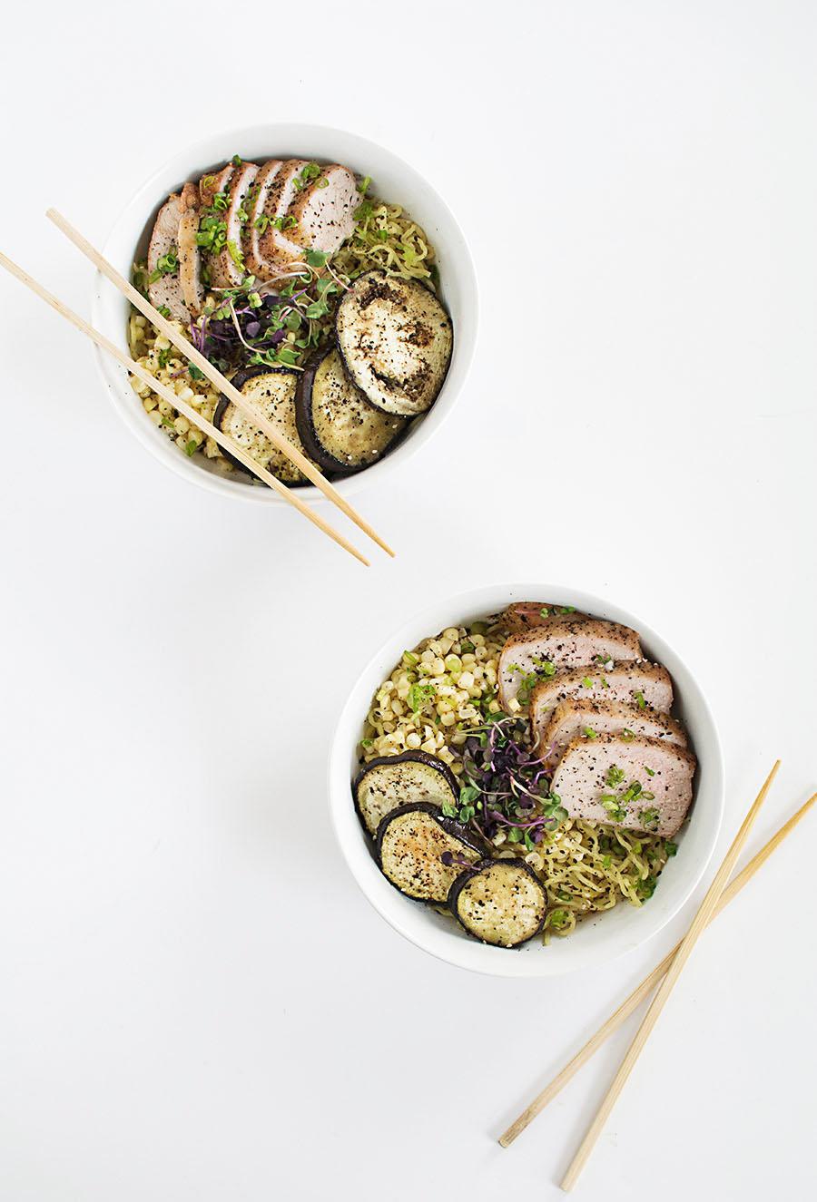 pork ramen bowls