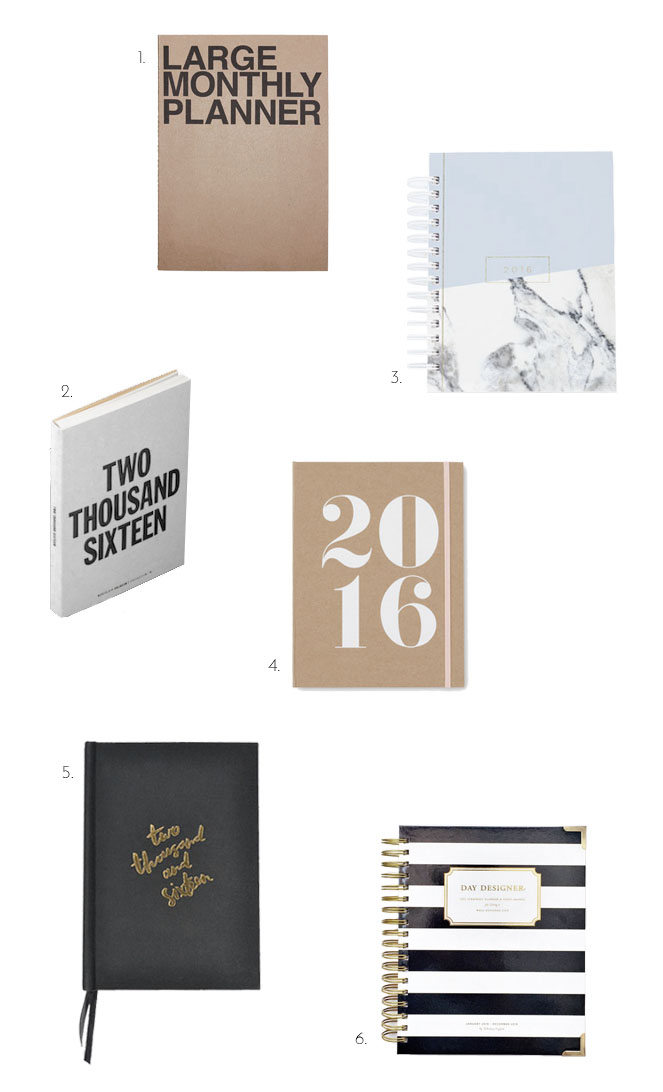 2016 Planners