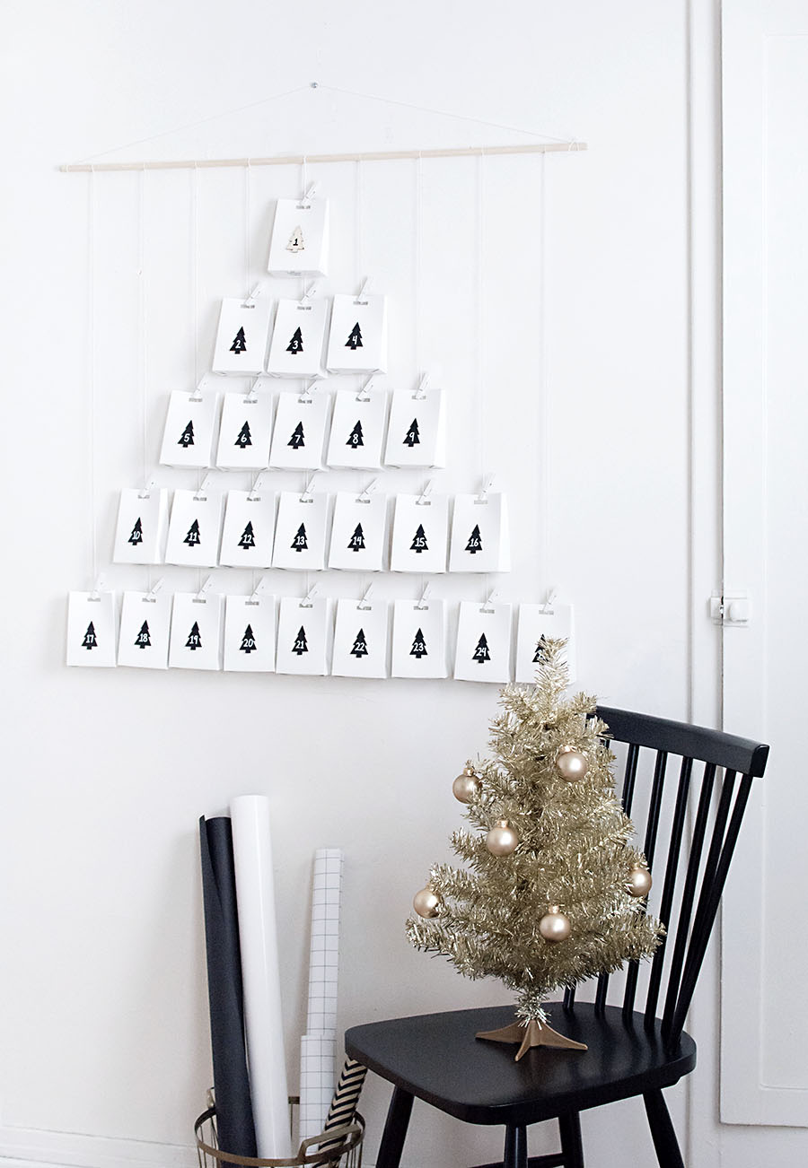 DIY- Modern advent calendar