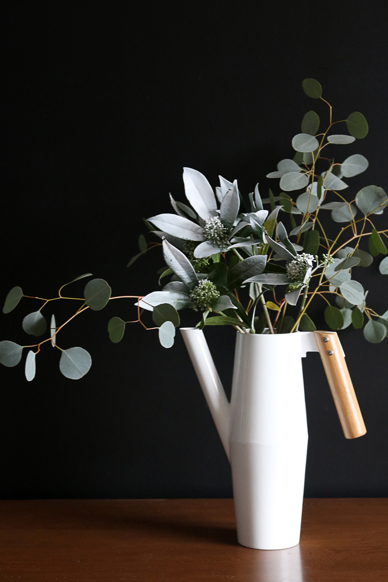 simple eucalyptus arrangement