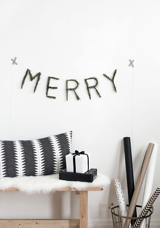 DIY Merry garland-2
