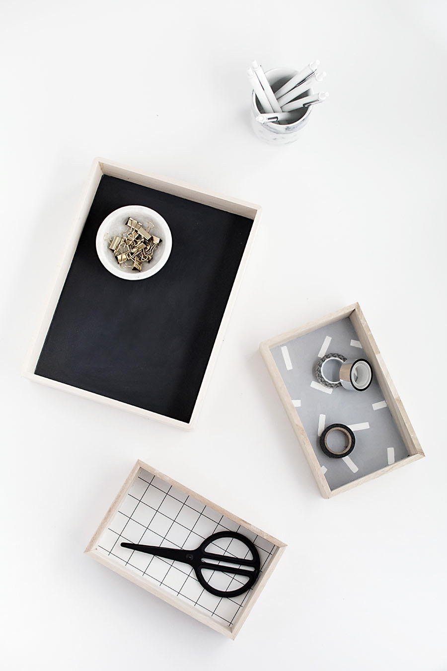 DIY-Wood Desk Organizers- Homey Oh My-2