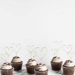 DIY Wire Heart Cupcake Toppers