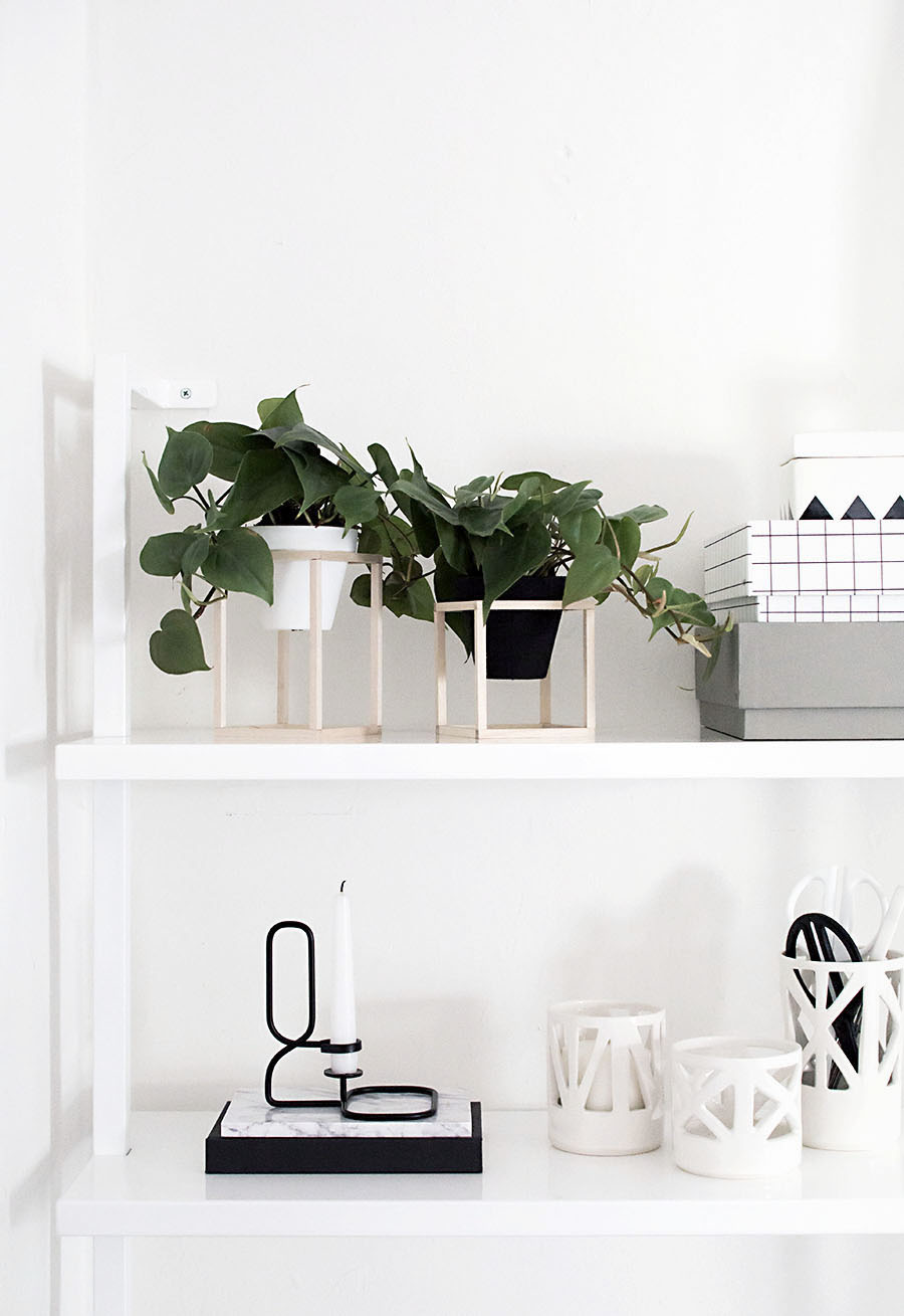 DIY elegant Mini Plant Stands Tutorials